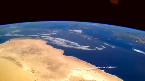 Libya-and-Egypt-from-Space-Graded