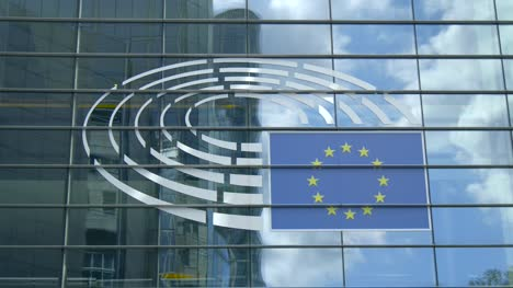 European-Parliament-Emblem-in-Brussels