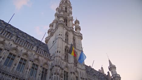 Looking-Up-at-Brussels-Town-Hall
