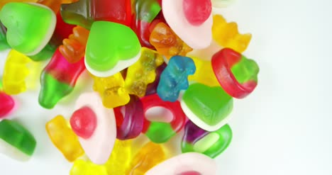 Selection-of-Candy-Rotating-into-Shot