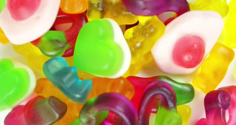 CU-Rotating-Shot-of-Candy-Mix