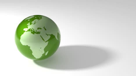 Green-Earth-Marble-Spinning-Loop