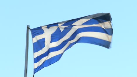 CU-of-Greek-Flag-in-Wind