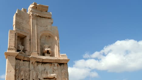 CU-of-Philopappos-Monument-Athens