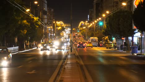 Night-Traffic-in-Athens