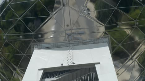 Detail-of-Atomium-Sphere-in-Brussels