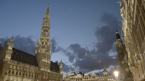 Grand-Place-in-Brussels-at-Dusk