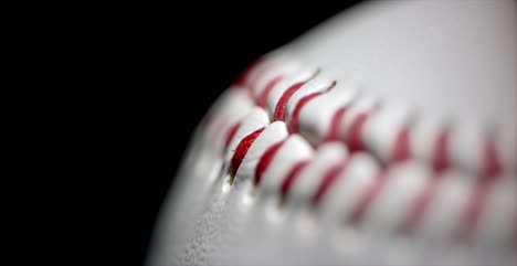 Macro-Rotating-Shot-of-Baseball