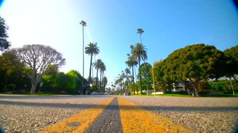 Low-Shot-of-Beverly-Hills-Road