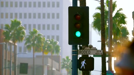 Traffic-Lights-and-Rodeo-Drive-Sign
