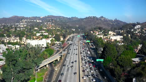 Hollywood-Freeway-Aerial-View