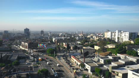 Aerial-View-of-Hollywood-in-LA