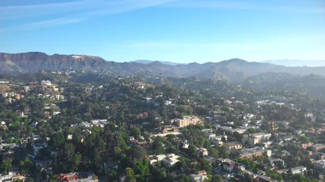 Aerial-View-of-Hollywood