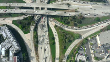Congested-Traffic-at-Four-Level-Interchange
