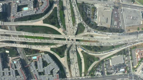 Four-Level-Interchange-Top-View-Static