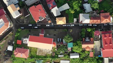 Flying-Over-Houses-in-Grenada