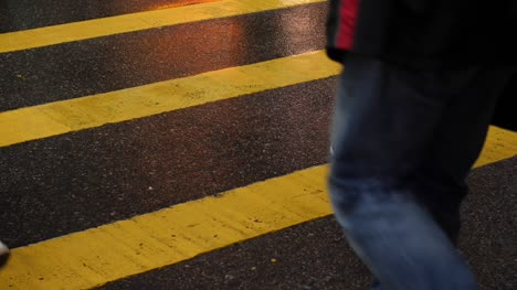 Close-Up-of-Hong-Kong-Pedestrian-Crossing