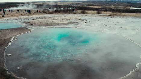 Steaming-Hot-Spring-in-Iceland