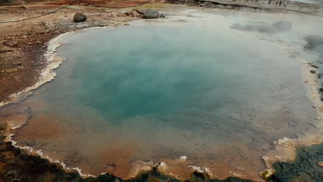 Colourful-Hot-Spring-in-Iceland