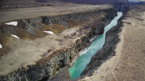 River-in-a-Canyon-in-Iceland