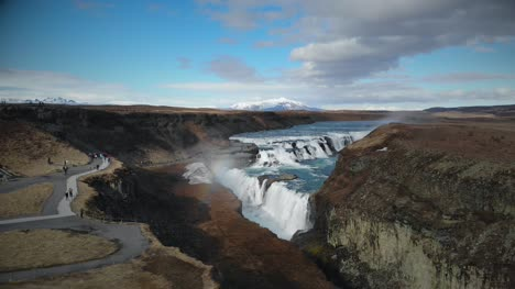 Gullfoss-Waterfall-and-Gorge