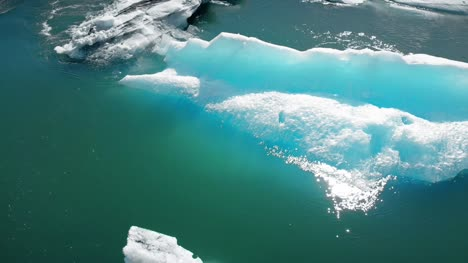 Flying-Over-Icebergs