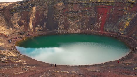 Volcanic-Crater-Lake