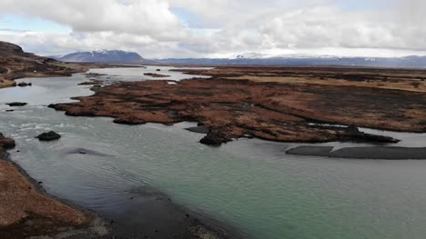 River-In-Icelandic-Countryside