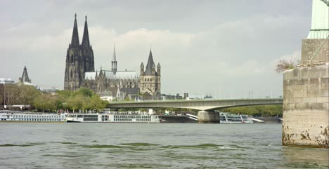 Cologne-Cathedral-and-Severin-Bridge-4K