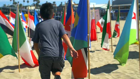 Child-Running-Through-National-Flags-2