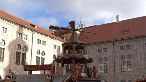Windmill-Carousel-at-Christmas-Market