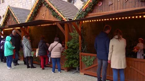 Huts-at-German-Christmas-Market