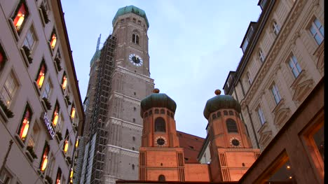 Frauenkirche-and-Wooden-Model-Munich