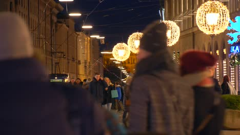 Munich-Street-with-Christmas-Lights