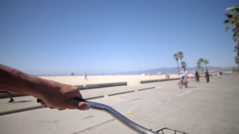 Cycling-Along-Venice-Beach-LA-05