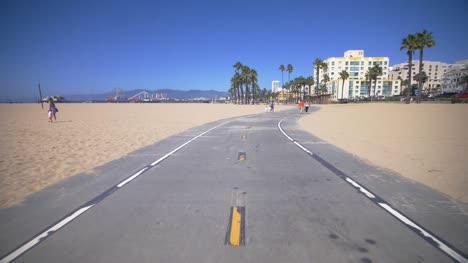 Following-Venice-Beach-Cycle-Path