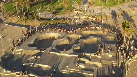 Skatepark-in-Venice-Beach-Aerial-View