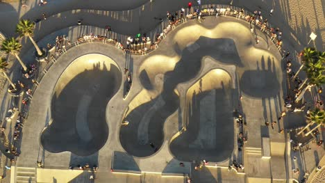 Aerial-Skatepark-at-Venice-Beach