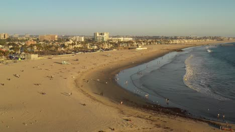 Aerial-View-Of-Venice-Beach