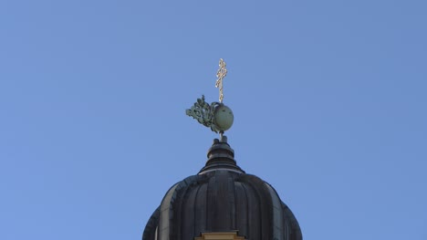 Weathervane-on-Church-Dome