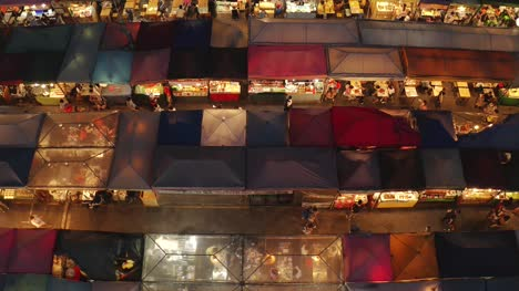 Rachada-Night-Market-Stalls-Aerial-View