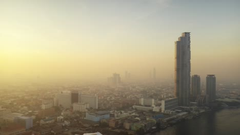 Bangkok-and-Chao-Phraya-River-at-Dawn