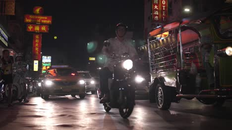Motorcycle-and-Tuk-Tuk-at-Night