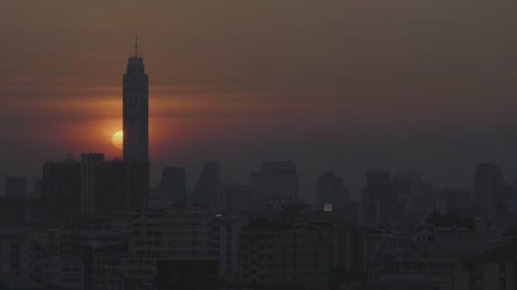 Timelapse-of-Sunset-Over-Bangkok-Skyline