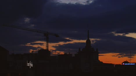 Sunset-Over-Sofia-Skyline-Time-Lapse
