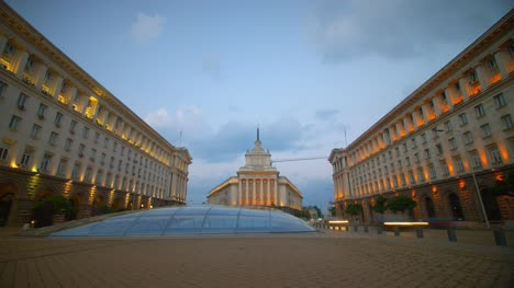 Time-Lapse-of-Independence-Square-Sofia-