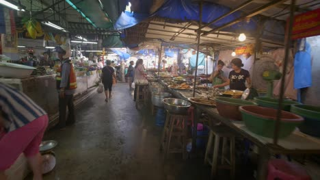 Walking-Through-Bangkok-Market