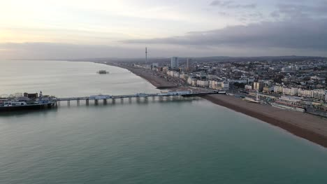 Brighton-Coastline-at-Dusk