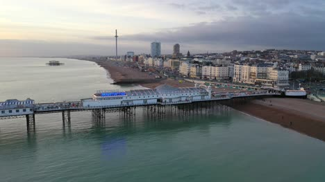 Drone-Flight-Over-Brighton-Pier-UK