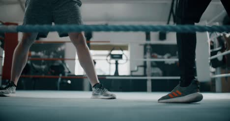 Low-Level-Shot-of-Boxers-Feet-in-Ring